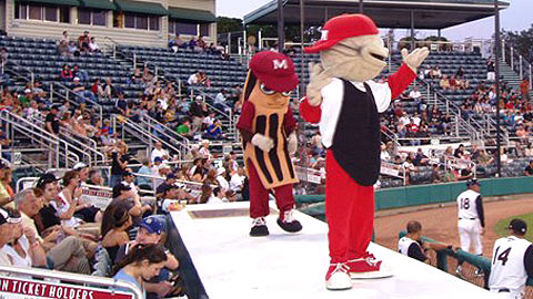 Al and Wally will welcome fans to the 2011 California/Carolina All-Star Game.