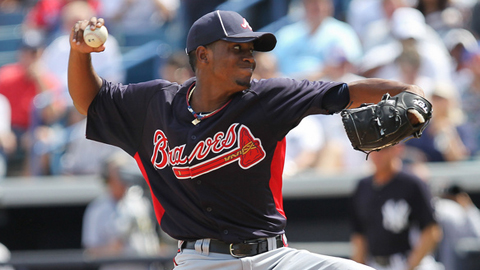 Julio Teheran has fanned 12 batters in 12 2/3 Triple-A innings.