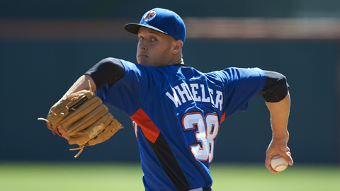 Zack Wheeler was the sixth overall pick in the 2009 Draft.